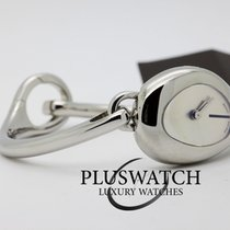 Gucci Woman Watch Horsebit White Dial Ref. 105507