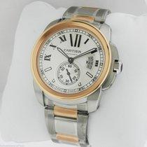Cartier Calibre de Cartier Auto Steel & Gold W7100036...