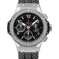 Hublot 341.SX.130.RX.114 Big Bang 41mm in Steel with Diamonds...