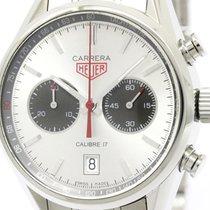 TAG Heuer Carrera Chronograph Caliber 17 Jack Heuer Steel...