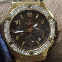 Hublot Big Bang Pink Gold Factory Diamonds 301.PX.1180.RX.1104