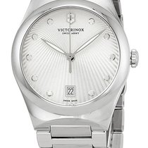 Victorinox Swiss Army Victoria Stainless Steel Womens Watch...