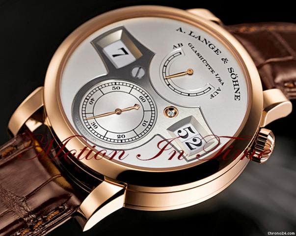 A. Lange & Söhne ZEITWERK ROSE GOLD - SUPER RARE LIMITED EDITION