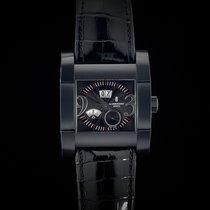 De Grisogono Men's Watch Novantatre N04 Brush Blackened...