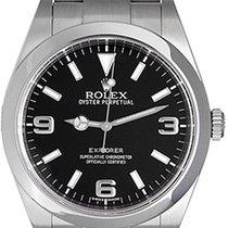 Rolex Explorer Men's Stainless Steel 39mm Watch 214270