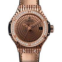 Hublot Big Bang Gold Caviar Diamond Bezel