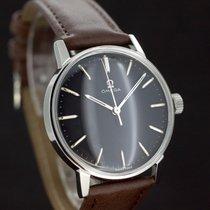 Omega Black Dial Handaufzug Kaliber 601 aus 1964 Super Zustand