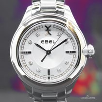 Ebel Onde Lady Diamonds Brillant silver Dial elegant