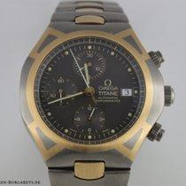 Omega Seamaster Polaris  Chronograph Titan Gold Ref.5890.40.00