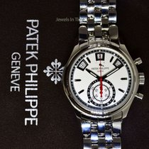 Patek Philippe Annual Calendar Steel Chronograph Watch...