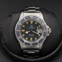 Tudor Submariner - 9411/0 - Blue Dial - Snowflake - Good...