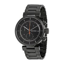 Issey Miyake W Black IP Steel Chronograph Men's Watch