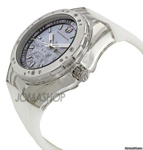 Technomarine Cruise Sport Snow Mother of Pearl Dial Unisex Watch 110064