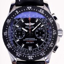 Breitling Mans Automatic Wristwatch Chronograph Skyracer Raven...