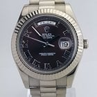 Rolex Oyster Perpetual Day-Date II brown dial 218239 brrp