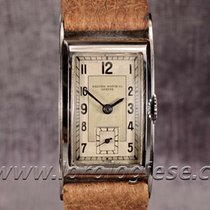 Record Watch Co. Vintage 1930`s Original Steel Tank Curvex...