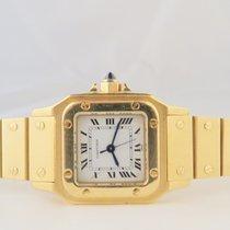 Cartier Santos Galbee 18k Yellow Gold Ladies