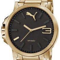 Puma Ultrasize PU103461006 metal gold Herren 50 mm