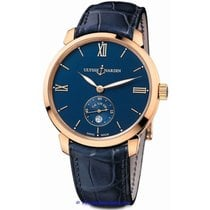 Ulysse Nardin Classico Manufacture Small Second in Rose Gold