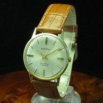 Bergana 14kt 585 Gold Gelbgold Handaufzug Herrenuhr / Kaliber...