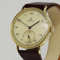 Omega seltene ART DECO Uhr 14K Gold, Kal. 30T2 von 1938