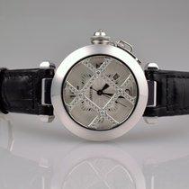 Cartier Pasha Weißgold WJ116136 Automatik Diamanten 32mm