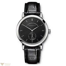 A. Lange & Söhne Saxonia 18K White Gold Men`s Watch