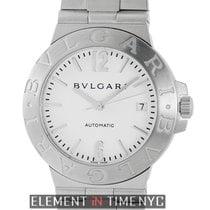 Bulgari Diagono Stainless Steel 38mm White Dial Automatic ...