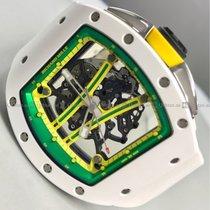 Richard Mille - Yohan Blake RM61-01 CA-ATZ Ceramic Skeleton Dial