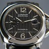 Panerai PAM 180 Luminor Marina White Gold Carbon Dial full set