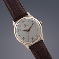 Omega 9ct gold manual dress watch