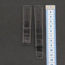 Baume & Mercier Crocodile Leather Strap 21 mm New