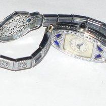 Bulova MISS AMERICA Sapphire Art Deco Watch Runs