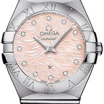 Omega Constellation Brushed 24mm 123.10.24.60.57.002