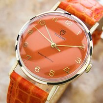 Tudor Men's Vintage 1950s Rolex  Solid 9k Gold Men's...