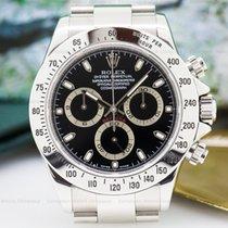 Rolex 116520 Daytona Black Dial SS / SS (25099)