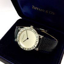 Tiffany & Co. Atlas Sterling Silver Ladies Watch W/...