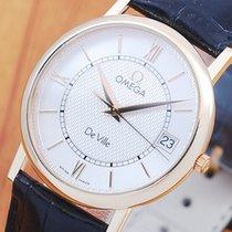 Omega De Ville 18K Solid Gold Men's Watch