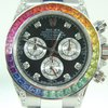 Rolex Daytona Cosmograph Steel,Rainbow