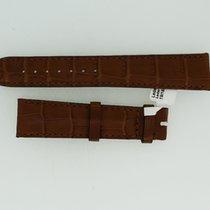 Omega Lederband / Alligator / Hellbraun-19/16 Länge 115/75