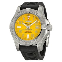 Breitling Avenger II Seawolf Yellow Dial Automatic Men's...