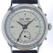 Girard Perregaux Mans Automatic Wristwatch Triple Calendar