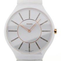 Rado True Thinline 39 White Ladies Diamond Quartz