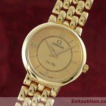 Omega Lady 18k (0,750) Gold De Ville Damenuhr Klassiker