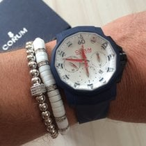 Corum Admirals cup blue rubber limited edition only 18pcs