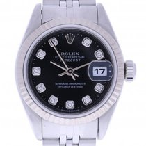 Rolex Datejust 26mm 79174 26 Millimeters Black Dial