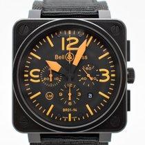 Bell & Ross BR-0194 Black Carbon Orange Limited Edition