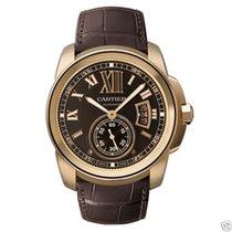 Cartier Calibre de Cartier W7100007 18k Rose Gold Chocolate Dial
