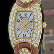 DeLaneau Yellow Gold Diamond FIRST LADY Watch