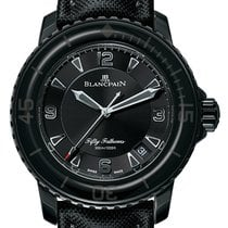 Blancpain New Sport Automatique 45mm Fifty Fathoms 5015-11C30-52A